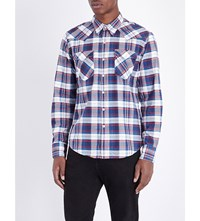 Levi's Barstow Regular Fit Western Shirt Suona Dress Blues