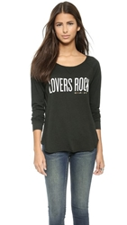 Spiritual Gangster Lovers Rock Raglan Tee Vintage Black