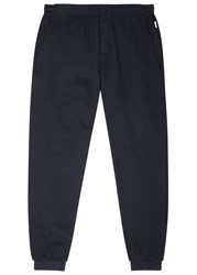 Orlebar Brown Beauceron Cotton Blend Jogging Trousers Navy