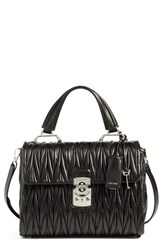 Miu Miu Matelasse Leather Satchel