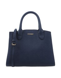 Twin Set Simona Barbieri Handbags Dark Blue