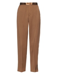 Undercover High Rise Pleated Wool Trousers