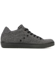 Leather Crown 'Lc Classic' Sneakers Grey