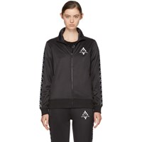 Marcelo Burlon County Of Milan Black Kappa Edition Track Jacket