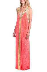 Pitusa Women's Cover Up Maxi Dress Watermelom