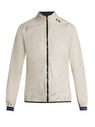 Soar Rain Zip Though Performance Jacket Light Grey