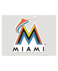 Wincraft Miami Marlins 8' X 8' Decal Team Color