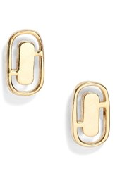 Marc By Marc Jacobs Women's Icon Cutout Stud Earrings
