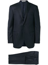 Corneliani Formal Tailored Suit Blue