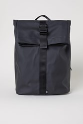 Handm H M Rubber Backpack Black
