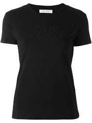 Alyx Embroidered Logo T Shirt Black