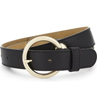 Sandro Stelie Leather Belt Black