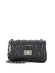 Valentino By Mario Valentino Noelle Quilted Leather Crossbody Bag Black