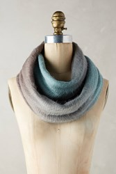 Anthropologie Ombre Infinity Scarf Blue