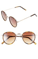 Women's Icon Eyewear 45Mm Round Sunglasses