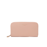 Aspinal Of London Women's Continental Clutch Wallet Peach Gold