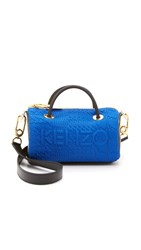 Kenzo Neoprene Mini Duffel Bag Blue