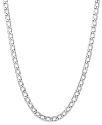 Sutton By Rhona Sutton Men's Stainless Steel Curb Link Chain Necklace