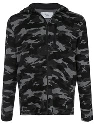 Aztech Mountain Zipped Camouflage Print Hoodie 60