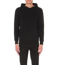 Sandro Duel Cotton Hoody Black