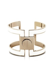 Pluma Brass Single Viti Cuff In Fumoso