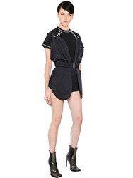 J.W.Anderson Rounded Techno Drill Romper