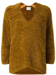 Forte Forte Chenille Jumper Viscose Polyamide Mohair Brown