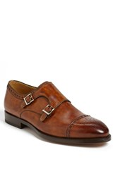 Men's Magnanni 'Villar Ii' Double Monk Strap Shoe