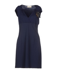 Just For You Short Dresses Dark Blue