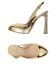 Fabi Footwear Courts Women Gold