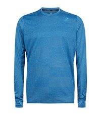 Adidas Supernova Long Sleeve Top Male Blue