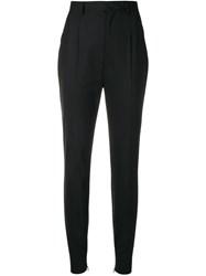 Dsquared2 Tailored Tapered Trousers Black