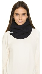 Adidas By Stella Mccartney Ski Infinity Scarf Ink Navy Black