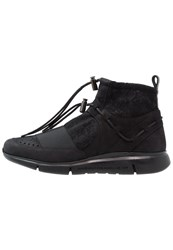 Android Homme Runyon Hightop Trainers Black