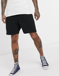 Obey All Eyes Sweat Shorts In Black