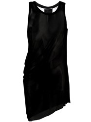 Lost And Found Ria Dunn Curved Tank Top Black