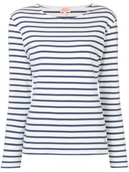 Armor Lux Striped Jersey White