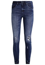Scotch And Soda Haut Slim Fit Jeans Lucky Shot Destroyed Denim