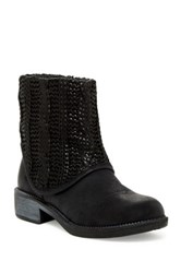 Rebels Ingram Knit Boot Black