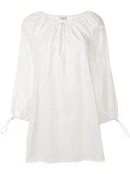 Marysia Moab Broderie Anglaise Dress White