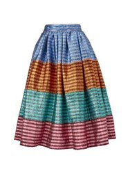 House Of Holland Tequila Stripe Skirt Multicolour