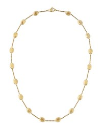 Marco Bicego Siviglia 18K Gold Single Strand Necklace 16 L