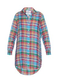 Frank And Eileen Mary Plaid Shirtdress