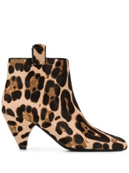 Laurence Dacade Terence Leopard Print Boots 60