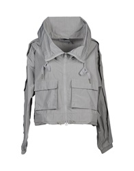 Adidas By Stella Mccartney Jackets Light Grey