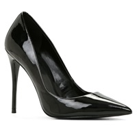 Aldo Stessy High Heel Courts With Pointy Toe Black Patent