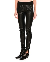 Stella Mccartney Darcelle Faux Leather Trousers Black