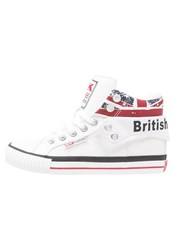 British Knights Roco Hightop Trainers White