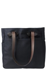 Filson Rugged Twill Tote Bag Blue Navy