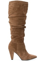 Kennel Schmenger And Pointed Boots Brown